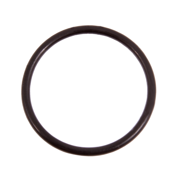 O-ring to breathing hose, against shield