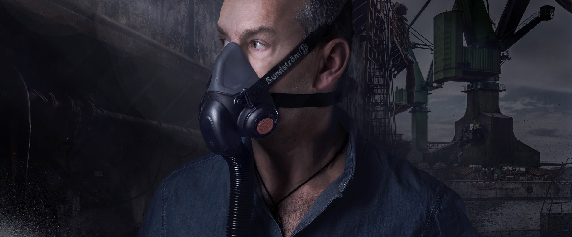 air supply respirator mask